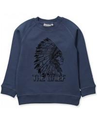 WHEAT Sweatshirt chief Indigo-00