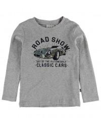 WHEAT T-shirt classic Melange grey-00