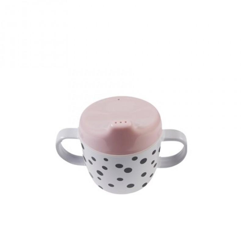Kop med drikketud rosa-33