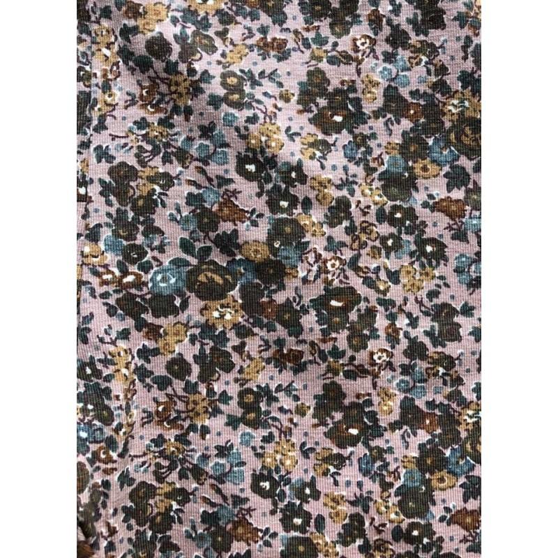 WHEAT Kjole Otilde Fawn Flowers-06