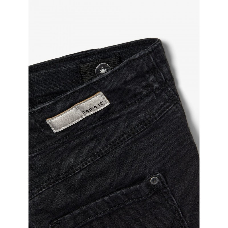 NAME IT Bootcut Jeans Sort-01