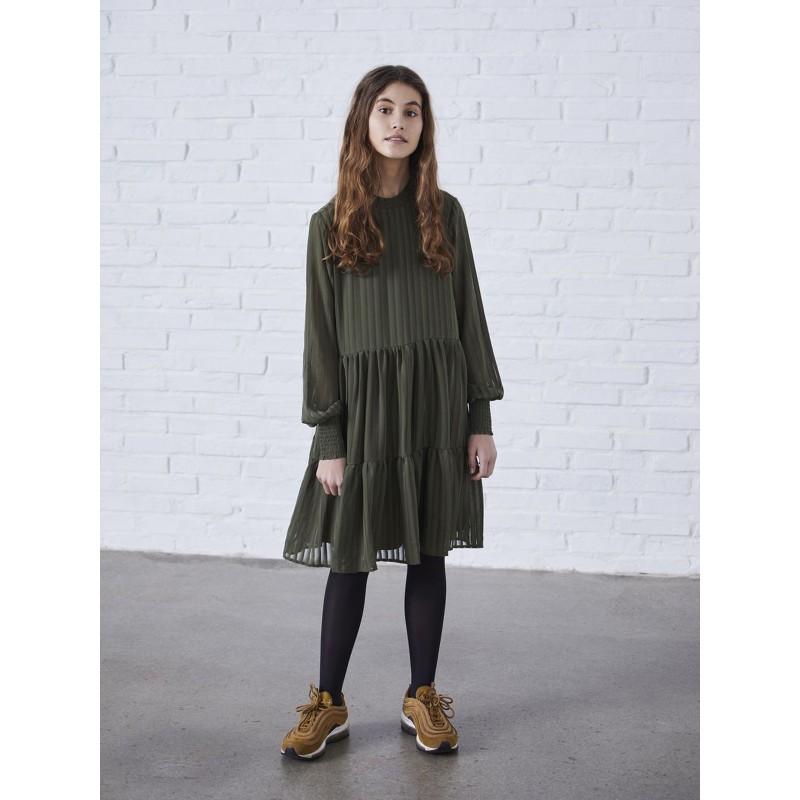 LMTD Kjole Ivy Green-03