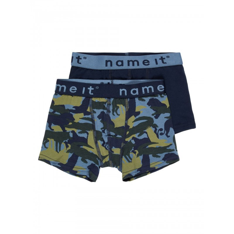 NAME IT Boxer 2pak China Blue-31