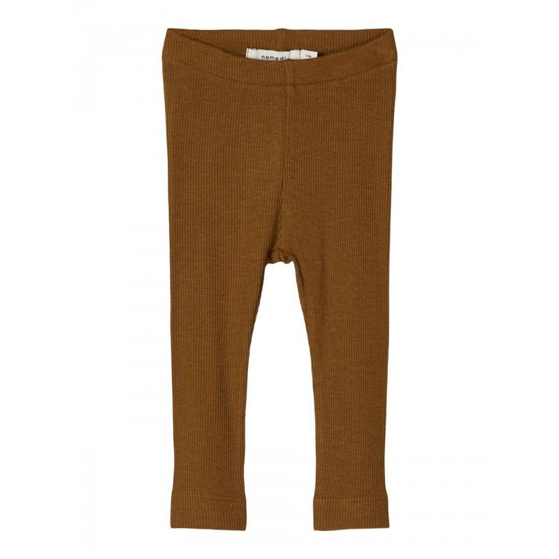 NAME IT Leggings Rib Monks Robe-31
