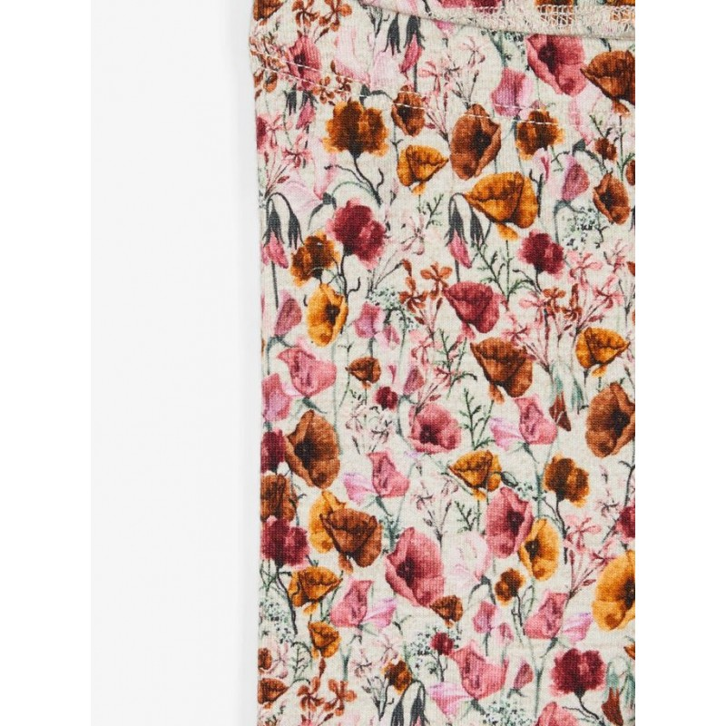 NAME IT Leggings Blomster Withered Rose-01
