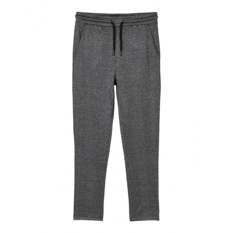 LMTD Ternet Sweatbukser Melange grå-32