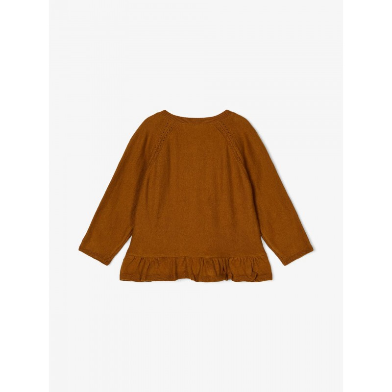 NAME IT Finstrikket Cardigan Monks Robe-01