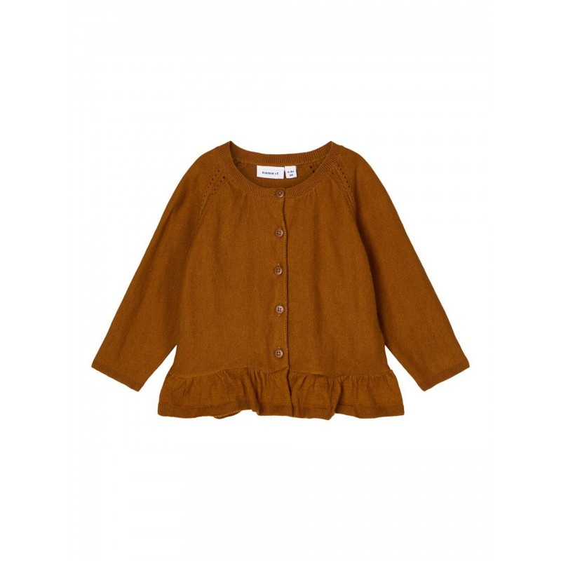 NAME IT Finstrikket Cardigan Monks Robe-31