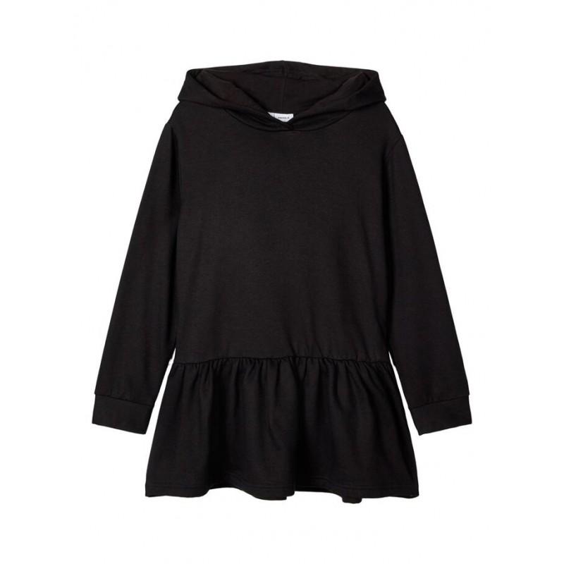 NAME IT Sweatshirt kjole Sort-31