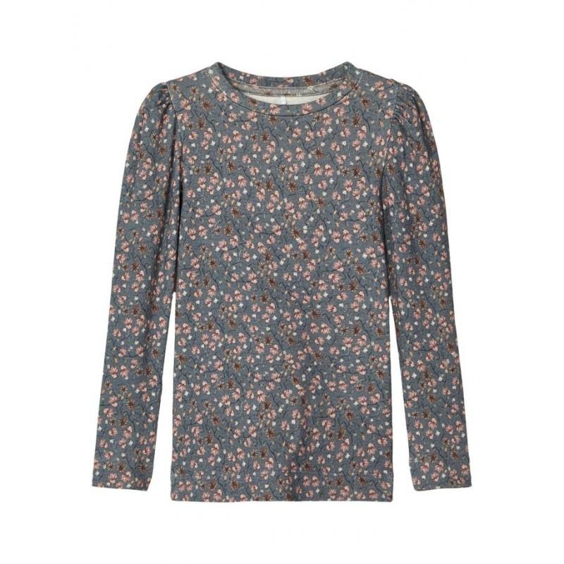 NAME IT Langærmet T-shirt Dark Slate/blå-31