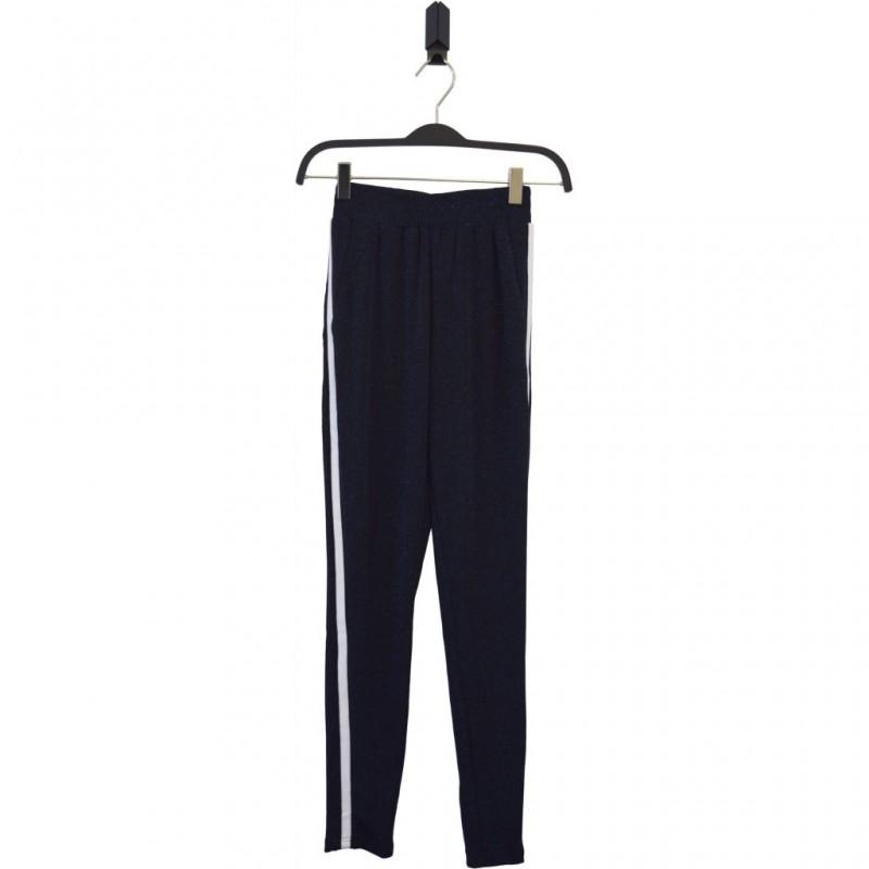 HOUND Smarte bukser i blå glimmer-31