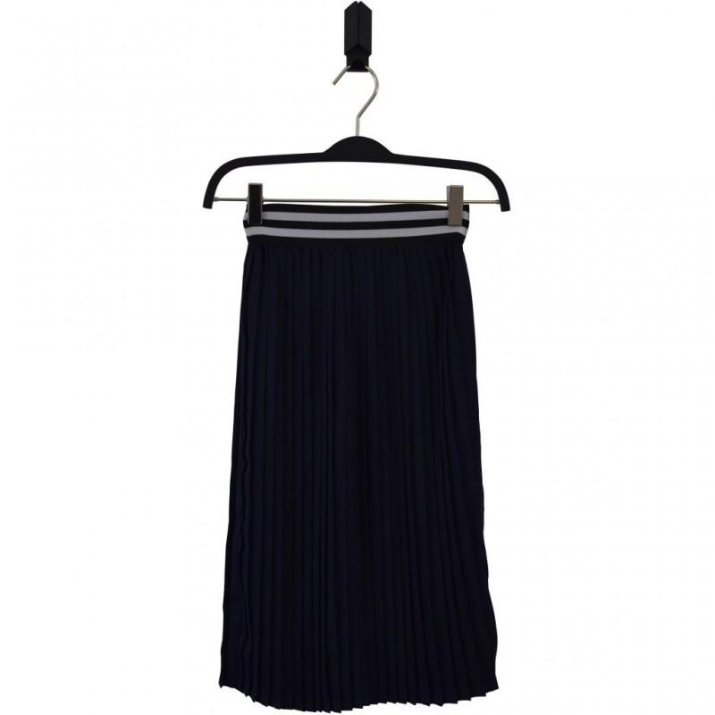 HOUND Lækkert plisseret skirt navy-32