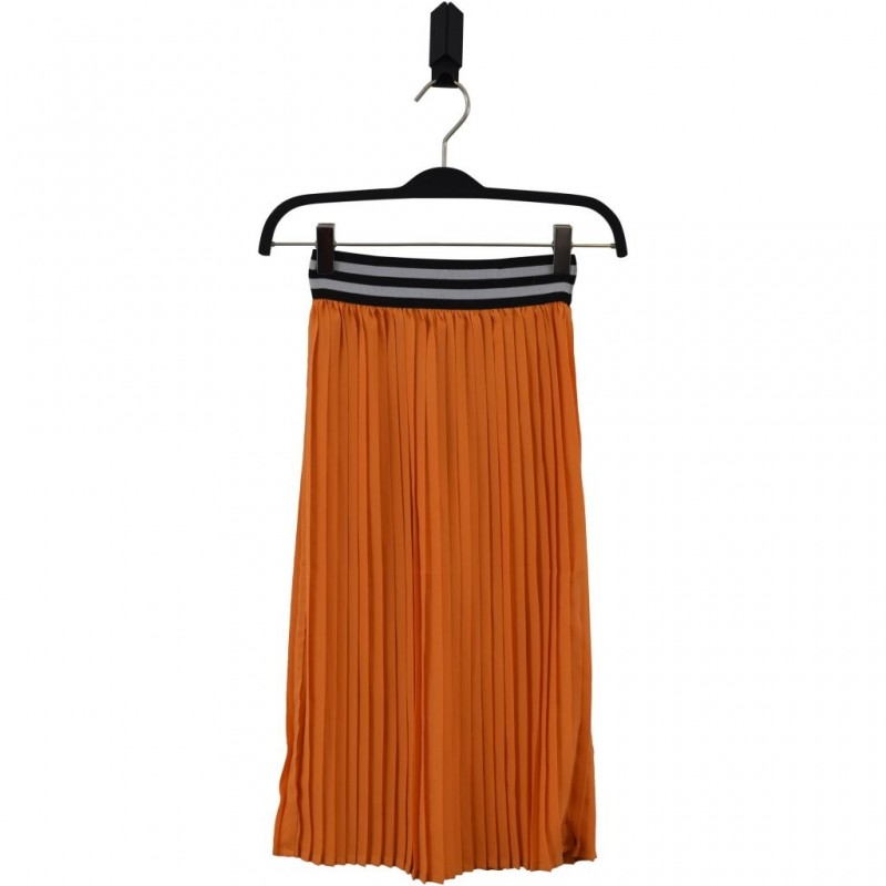 HOUND Lækkert plisseret skirt orange-31