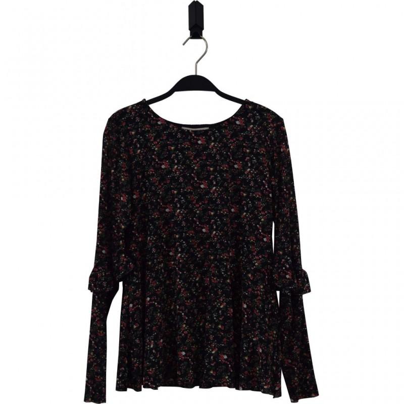 HOUND Bluse med blomstret mønster-32