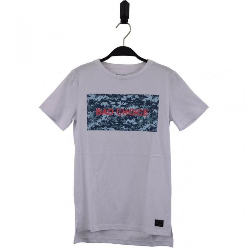 HOUND Lækker T-shirt med BAD CHOISE print hvid-35