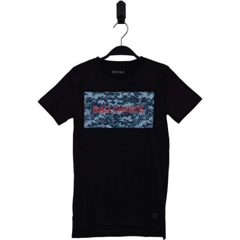 HOUND Lækker T-shirt med BAD CHOISE print sort-36