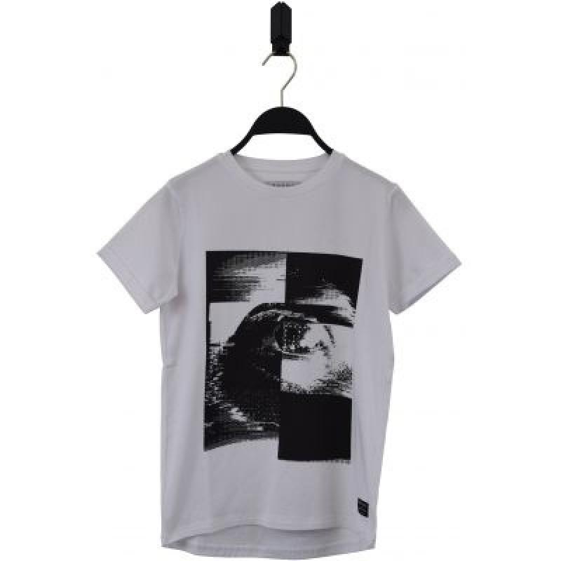 HOUND Lækker T-shirt tofarvet sort/hvid-32