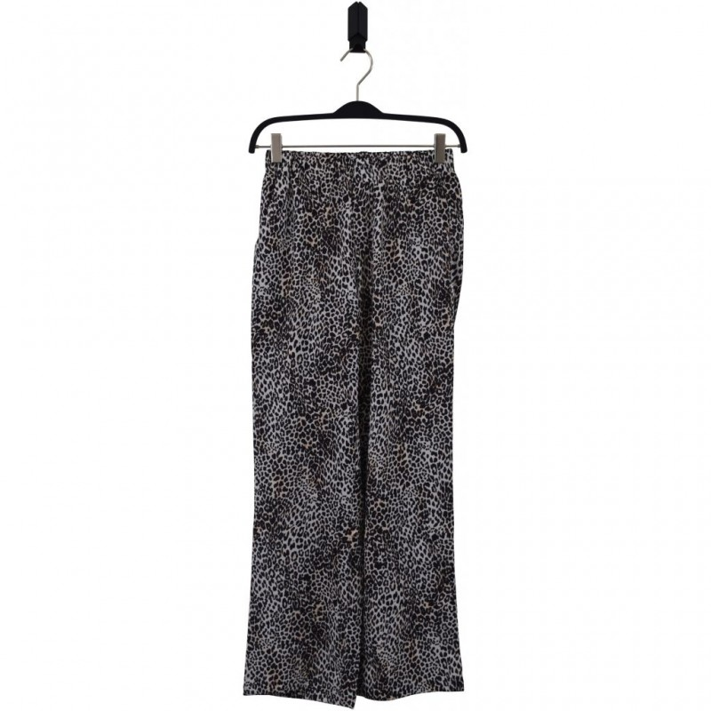 HOUND WIDE PANTS LEOPARD-31