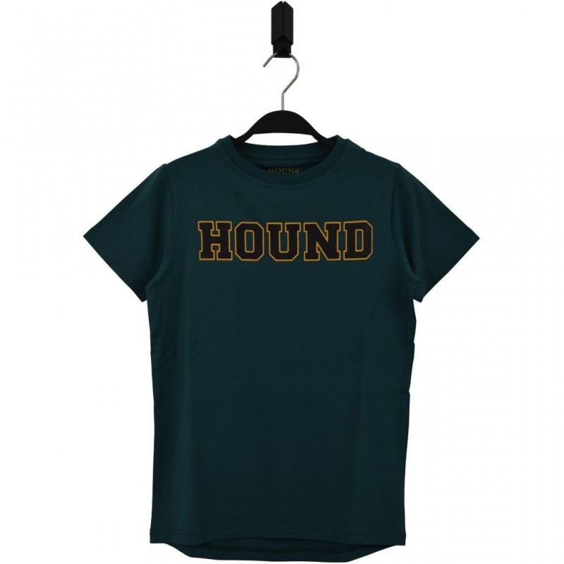 HOUND Lækker T-shirt med skriften HOUND grøn-34