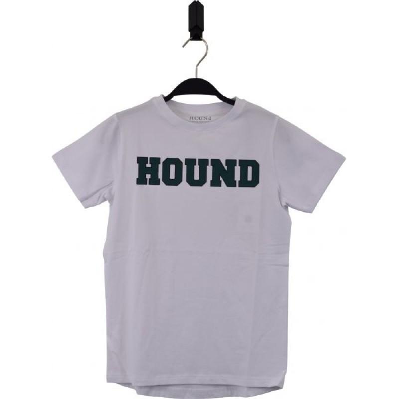 HOUND Lækker T-shirt med skriften HOUND hvid-35