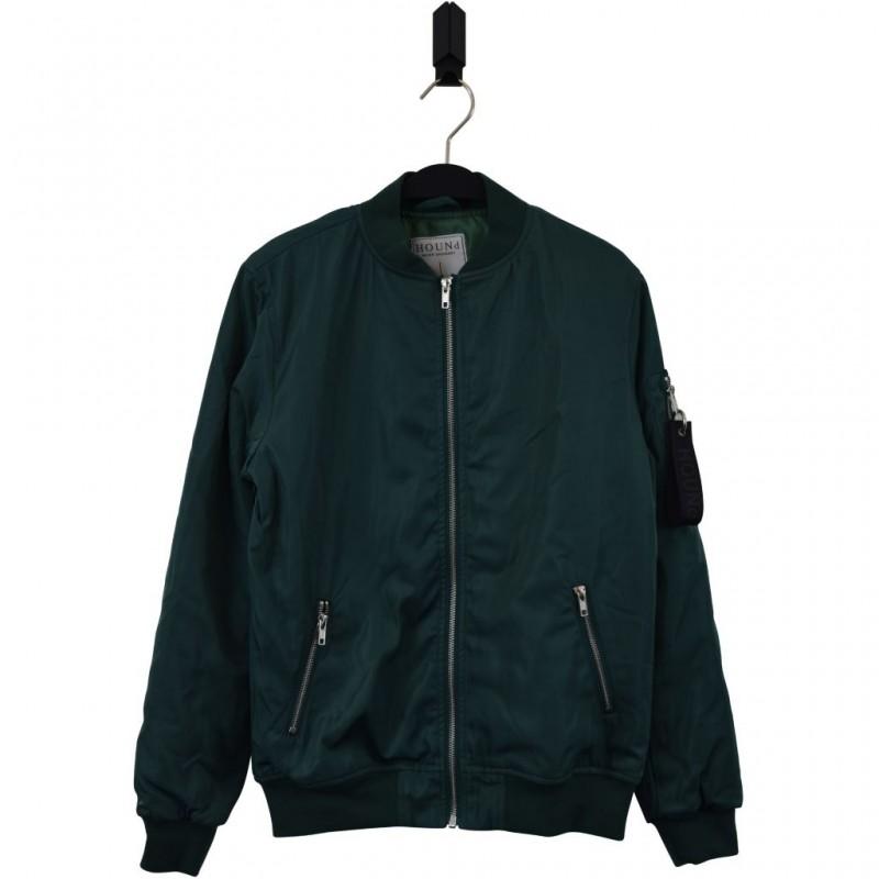 HOUND Bomber overgangsjakke med tyndt for frisk grøn-34