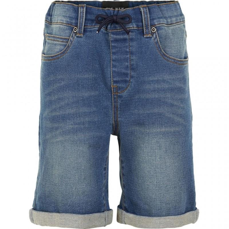 THE NEW Denim shorts med opslag KROGO denim-31