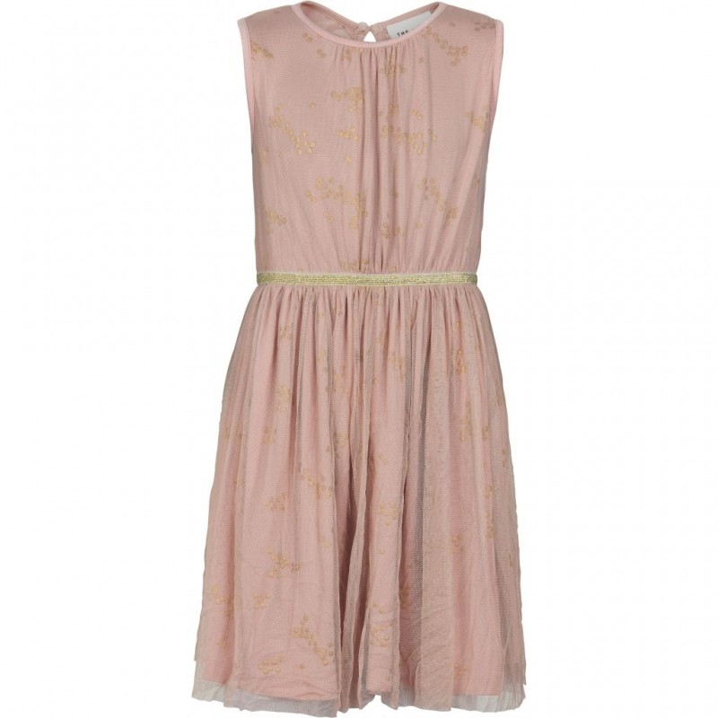 THE NEW ANNA KIM DRESS rose med guld-33