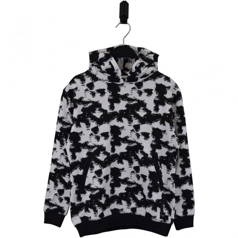 HOUND Sej hoodie i flot fashion design sort/hvid-33