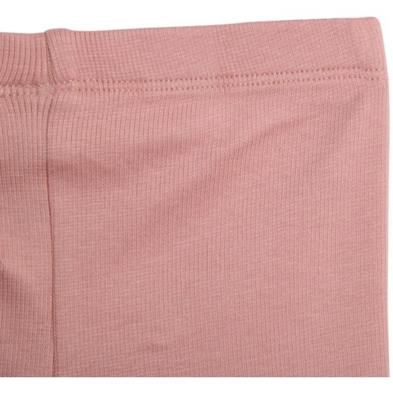 WHEAT Bløde rib leggings soft rose-02