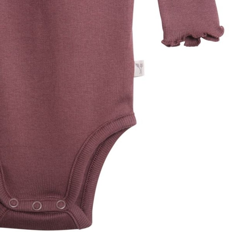 Body rib lace soft eggplant-04