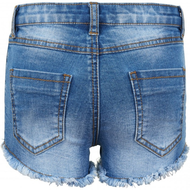THE NEW Denim shorts med frynser AGNES denim-03