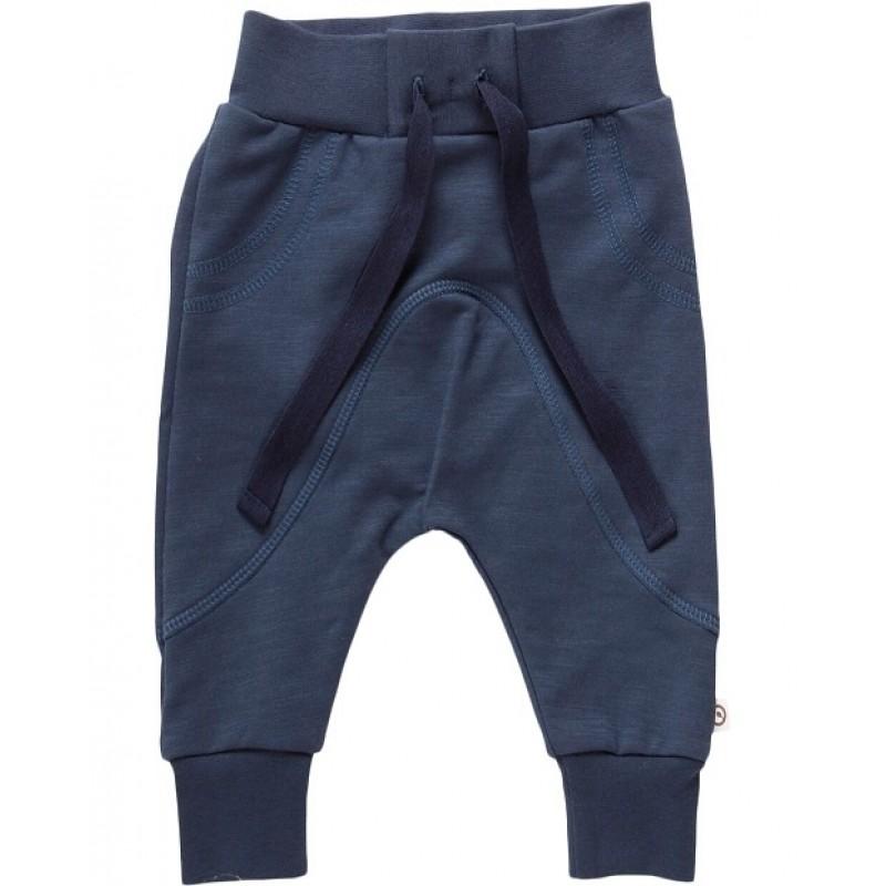 MÜSLI SLUB SWEAT PANTS MIDNIGHT BLUE-31