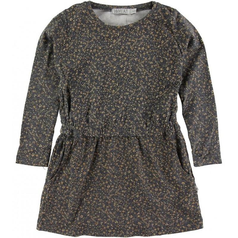 WHEAT Odile kjole Greyblue Flowers-31