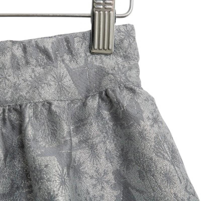 WHEAT FROZEN Jacquard skirt-02