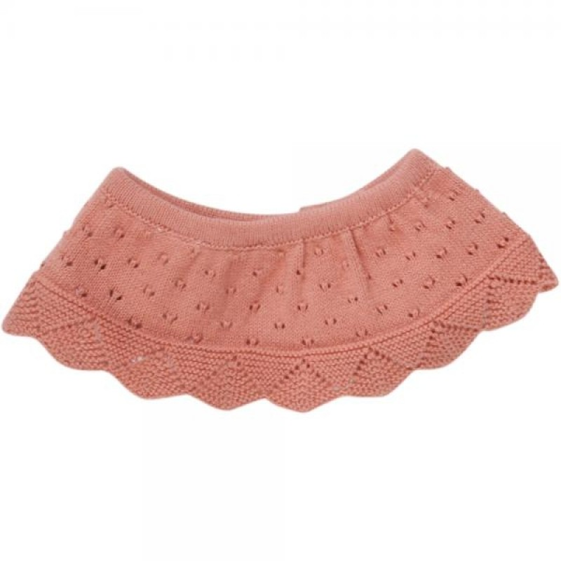 MÜSLI Knit dot collar Dark peach-31