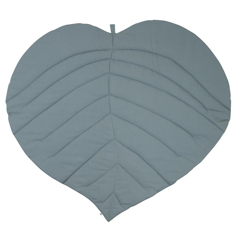 MÜSLI Leaf blanket dusty green-32