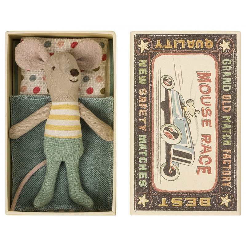 Little brother mouse in box-34