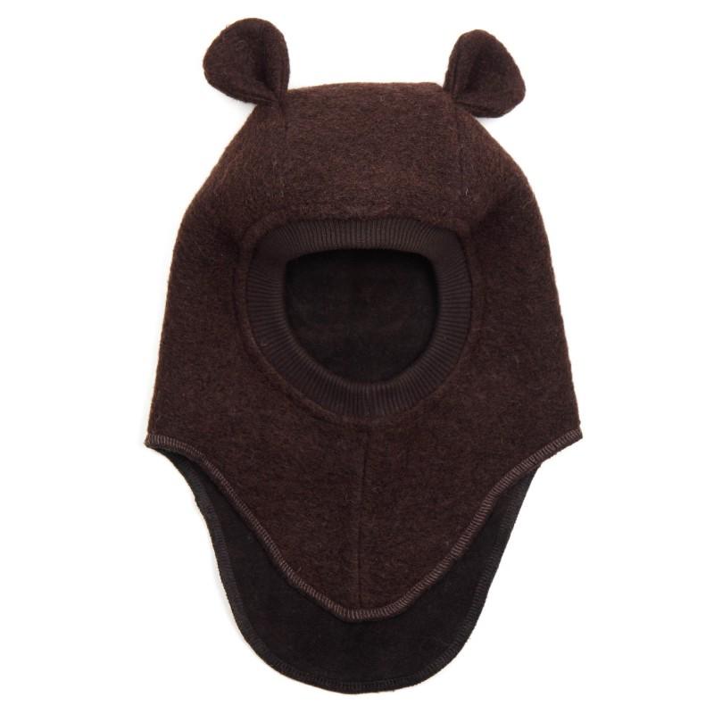 HUTTELIHUT Elefanthue Bomuld/Uld Brun-31