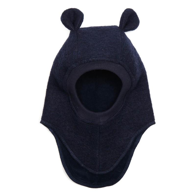 HUTTELIHUT Elefanthue Bomuld/uld Navy-31