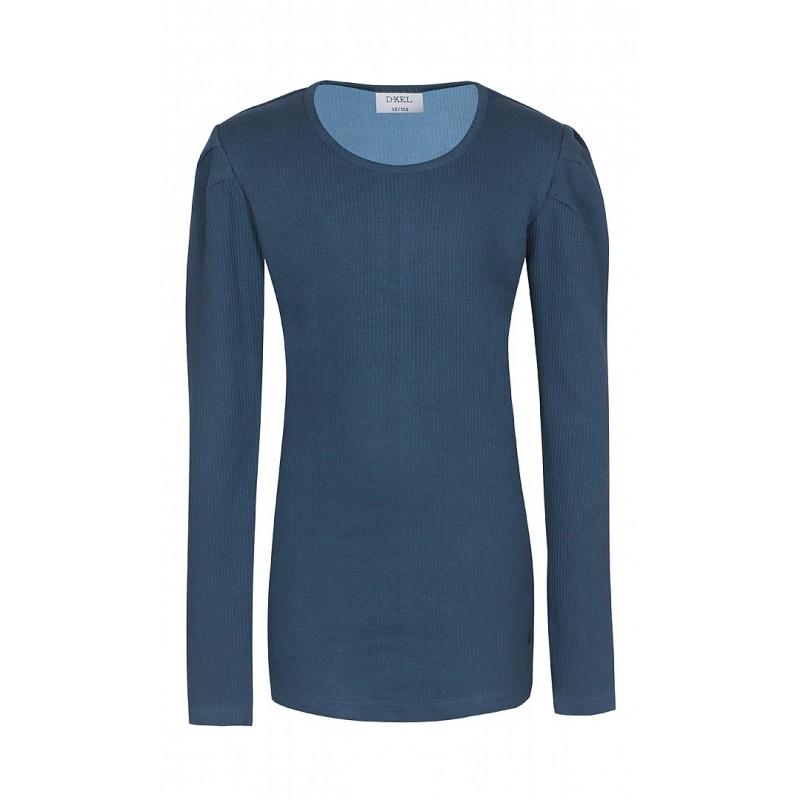 D-XEL Langærmet T-shirt Blå-31