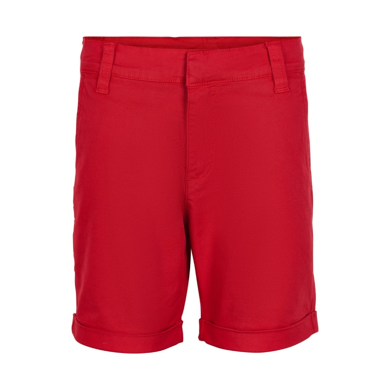 THE NEW Chino shorts med opslag Gustavo rød-32