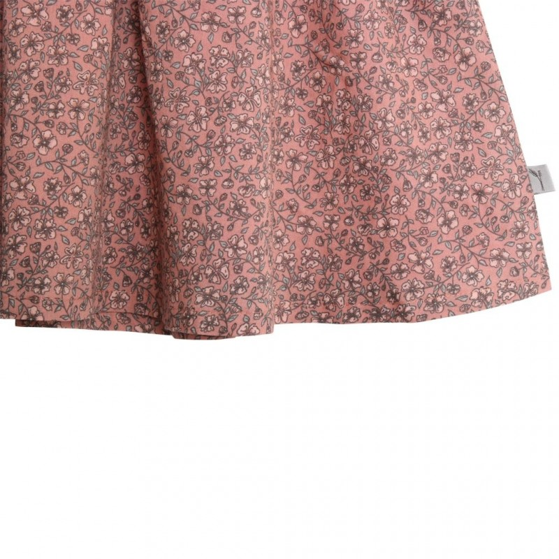WHEAT Kjole Pinafore wrinkles Soft rouge-03