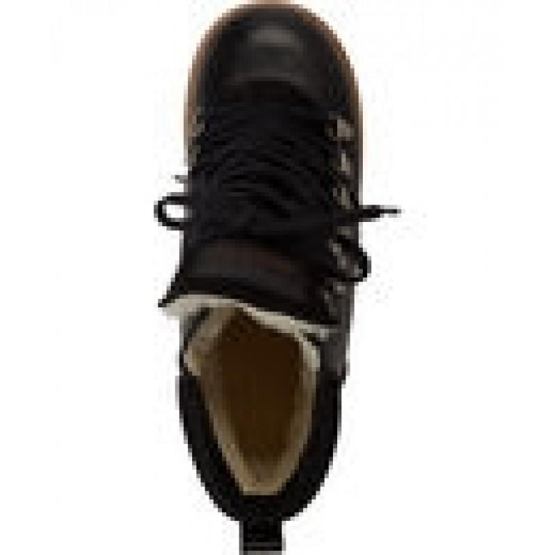 ANGULUS Korte vinterstøvler med snørrebånd og bred sål-01