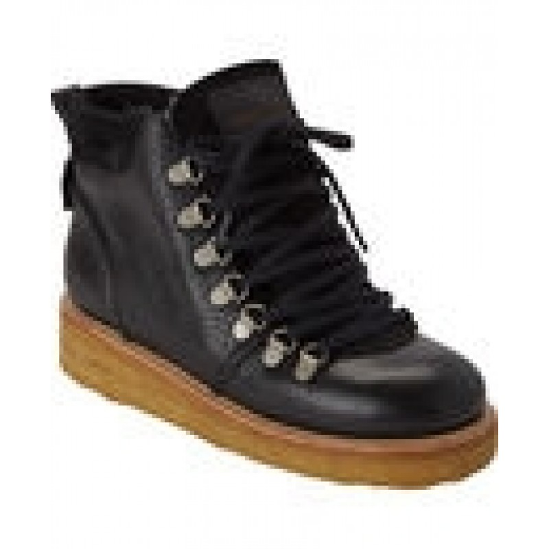 ANGULUS Korte vinterstøvler med snørrebånd og bred sål-31