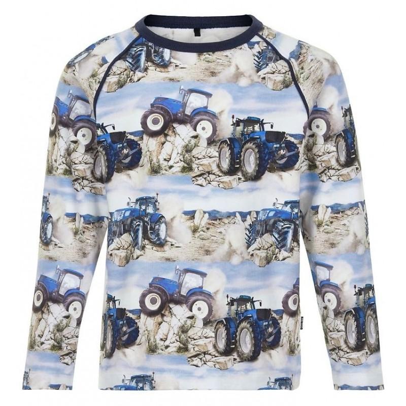 ME TOO Langærmet T-shirt Blå-31