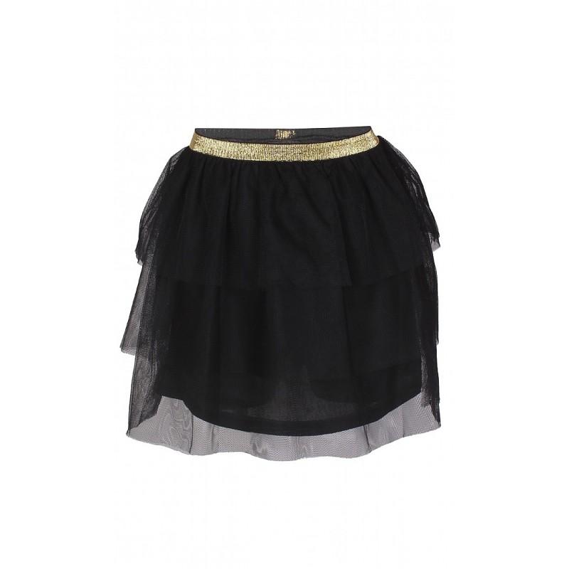 KIDS UP Tulle nederdel sort-31