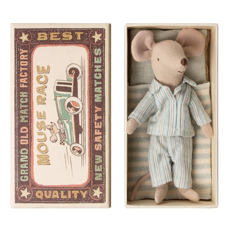 MAILEG Big brother mouse in box-01