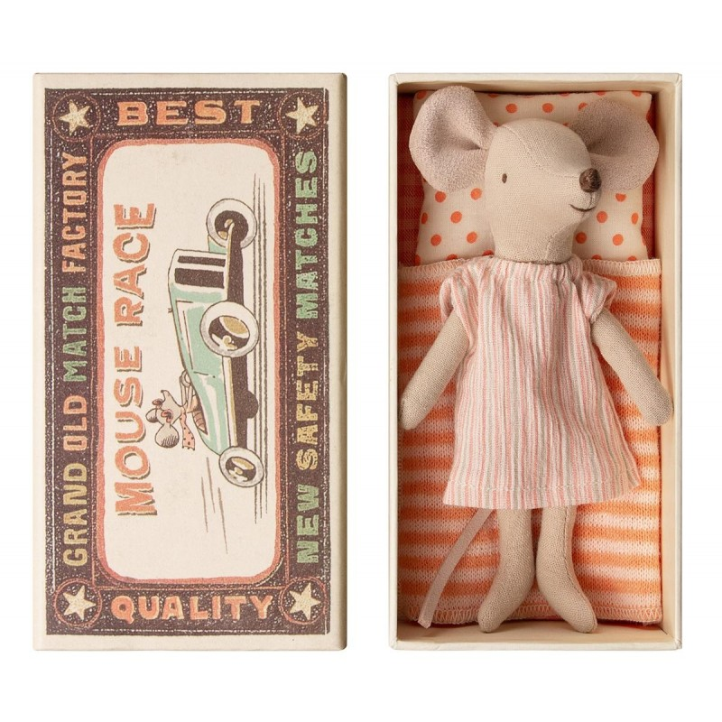MAILEG Big sister mouse in box-03