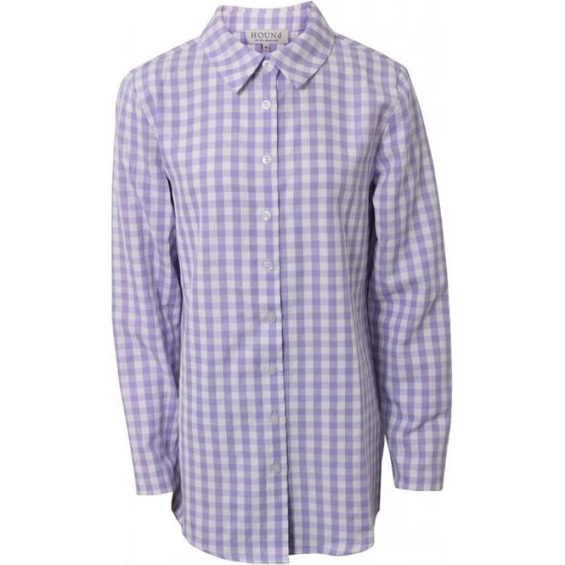HOUND Skjorte Tunika Lilla-31