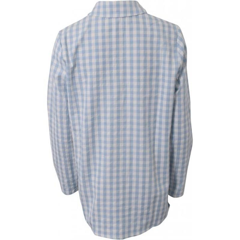 HOUND Skjorte Tunika Lyseblå-01